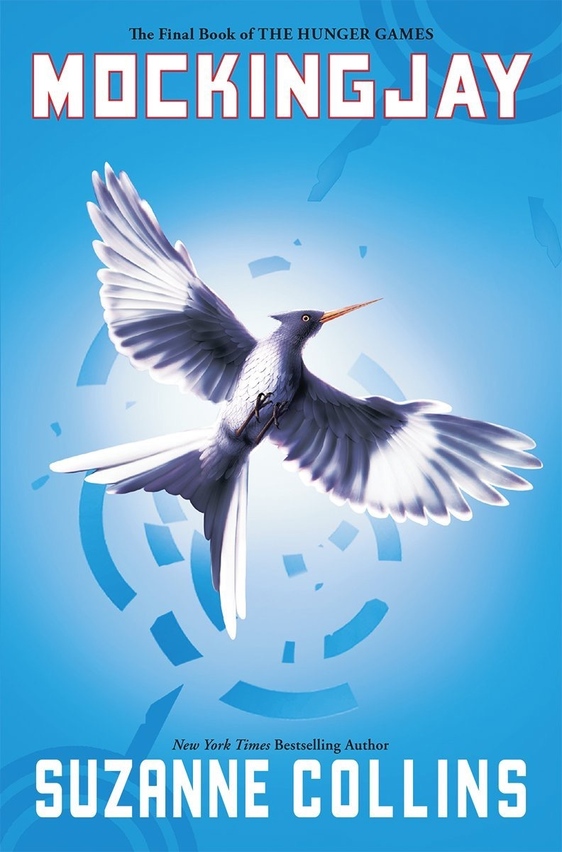 the mockingjay book cover hunger game series