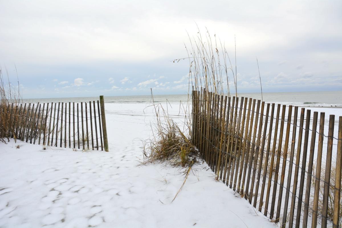MYRTLE BEACH South Carolina in the winter