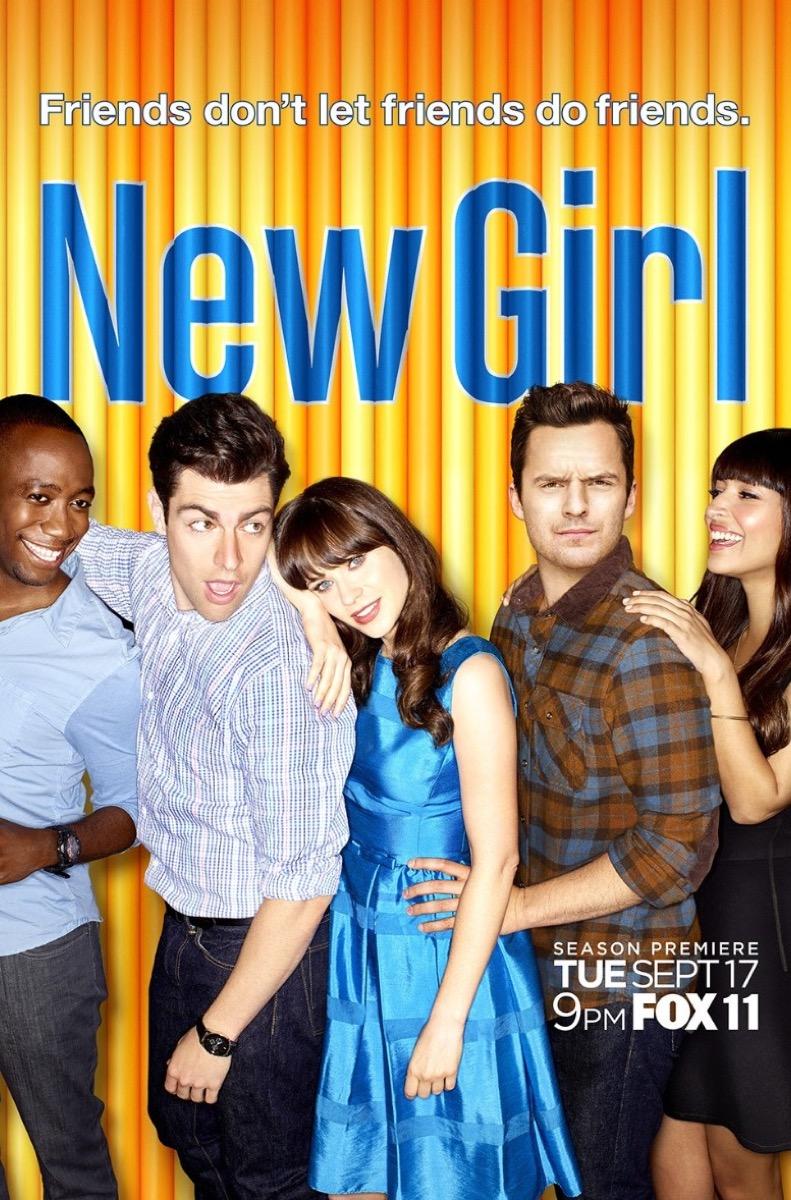 TV poster for New Girl