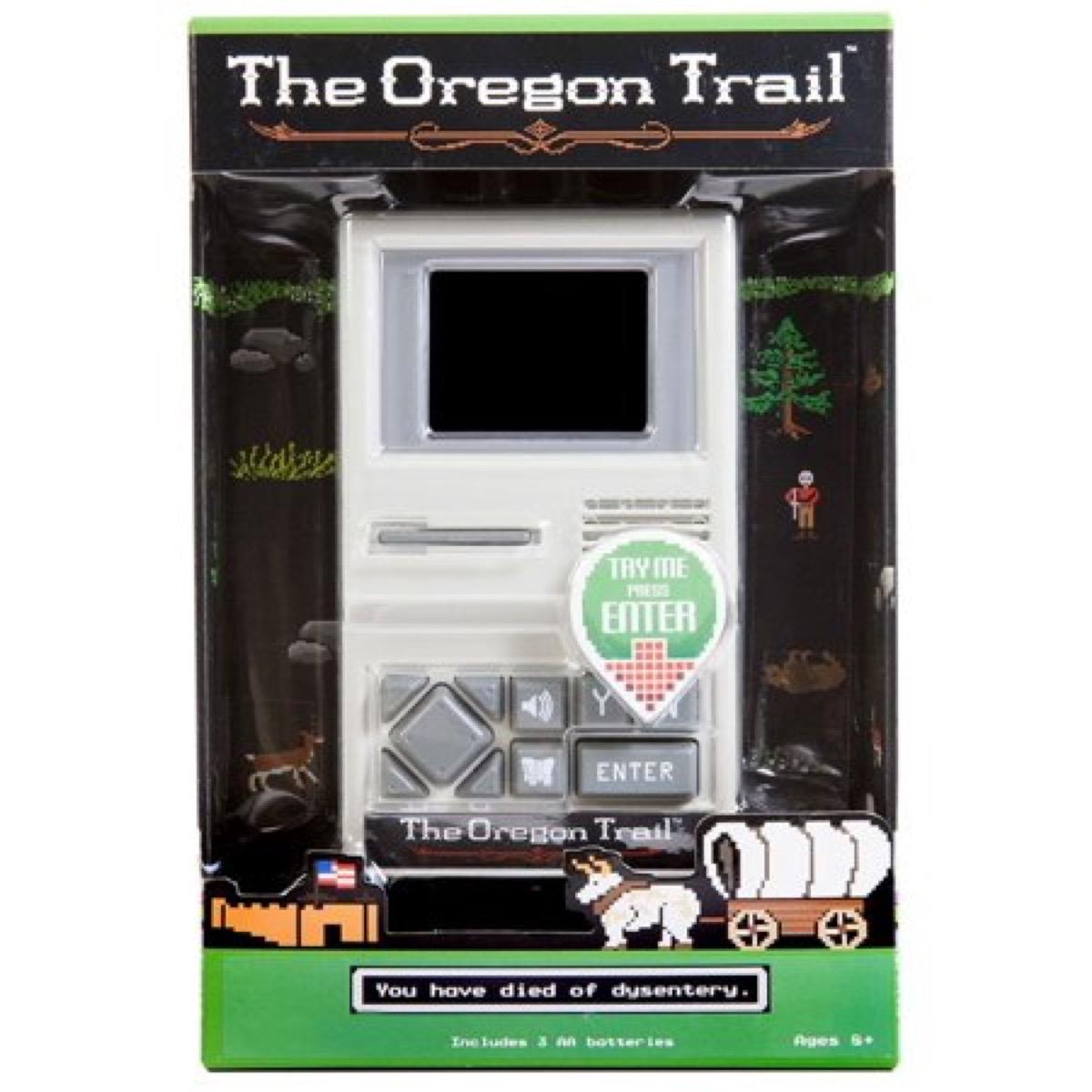 oregon trail handheld video game