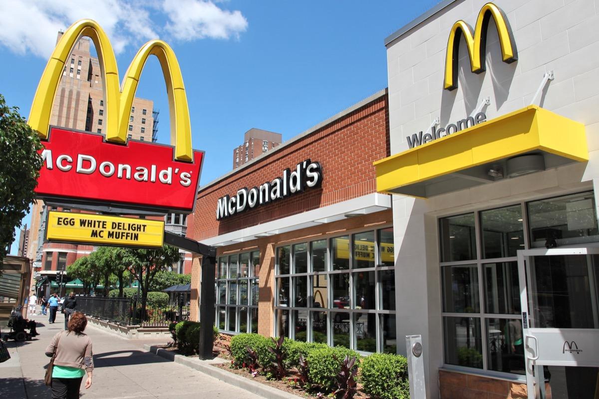 McDonald's restaurant exterior