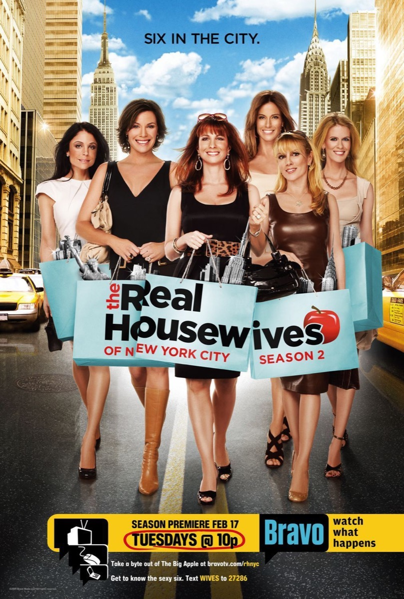 real housewives poster