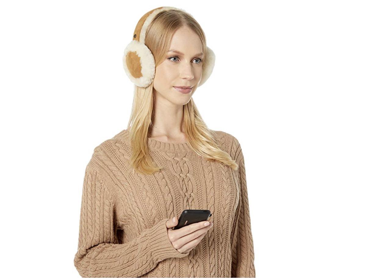 ugg water resistant earmuffs