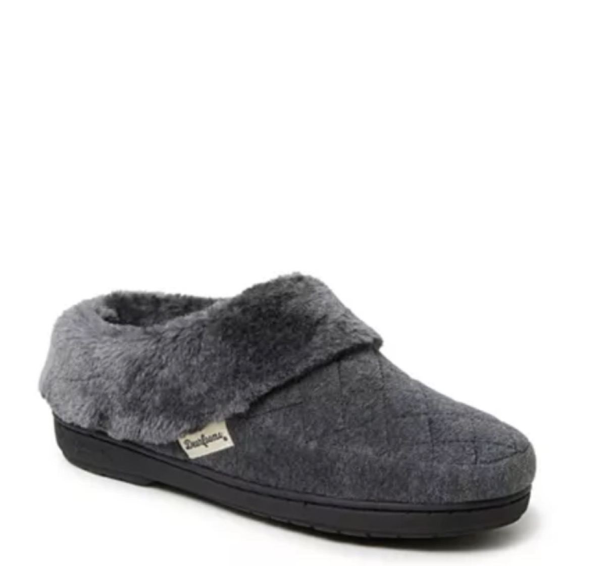 women's velour clog slippers