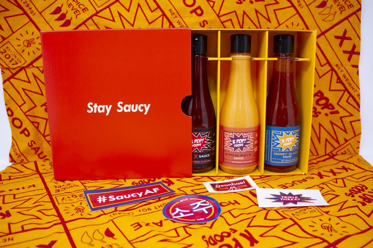 3-pack korean sauces