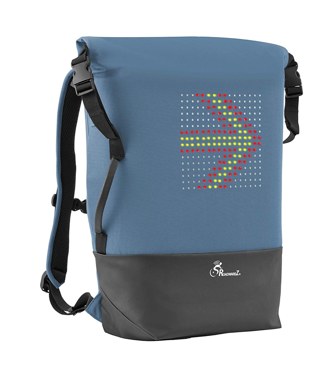 backpack with turning signals