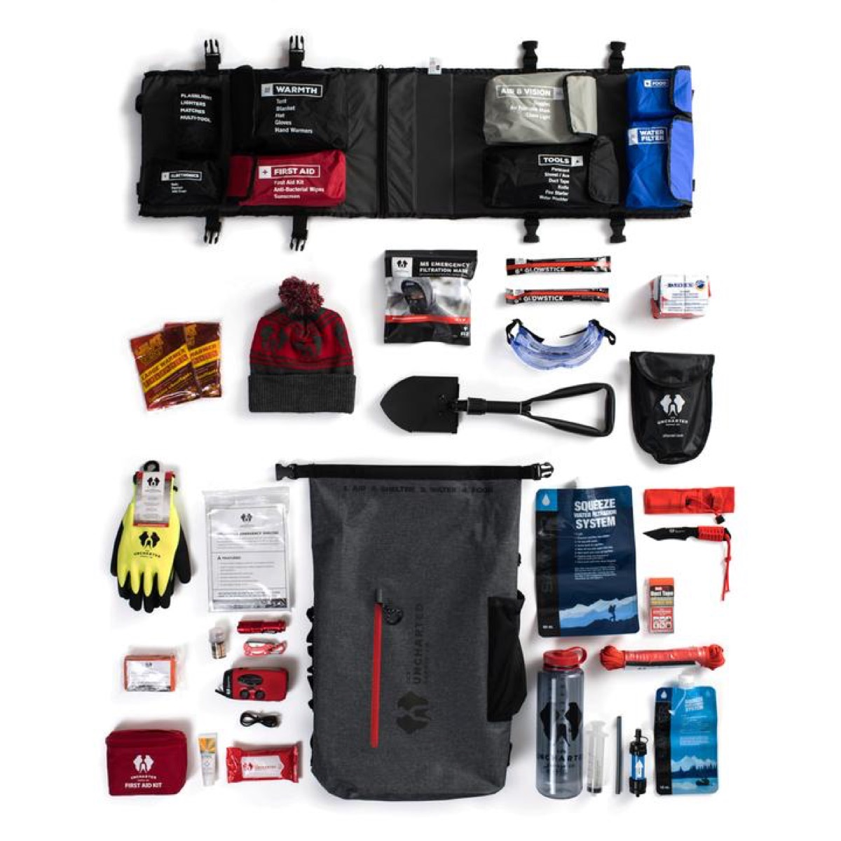 contents of survival bag