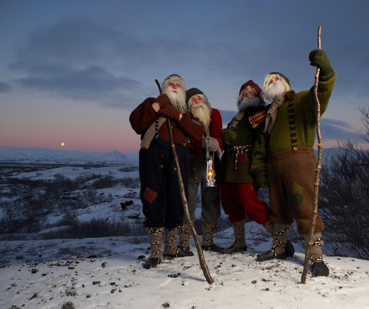 Yule Lads Santa Claus, Iceland