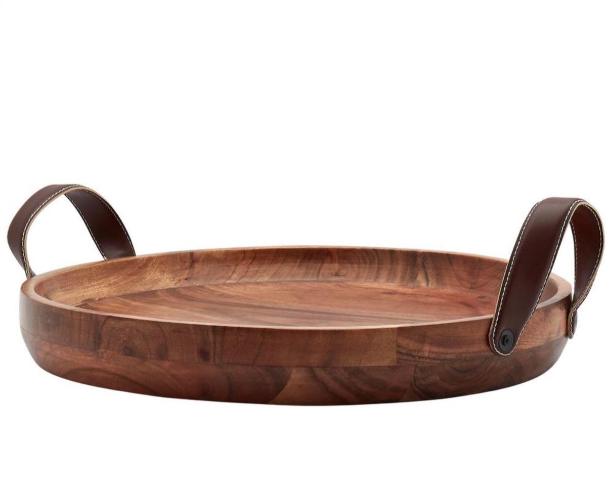 acacia wood serving tray