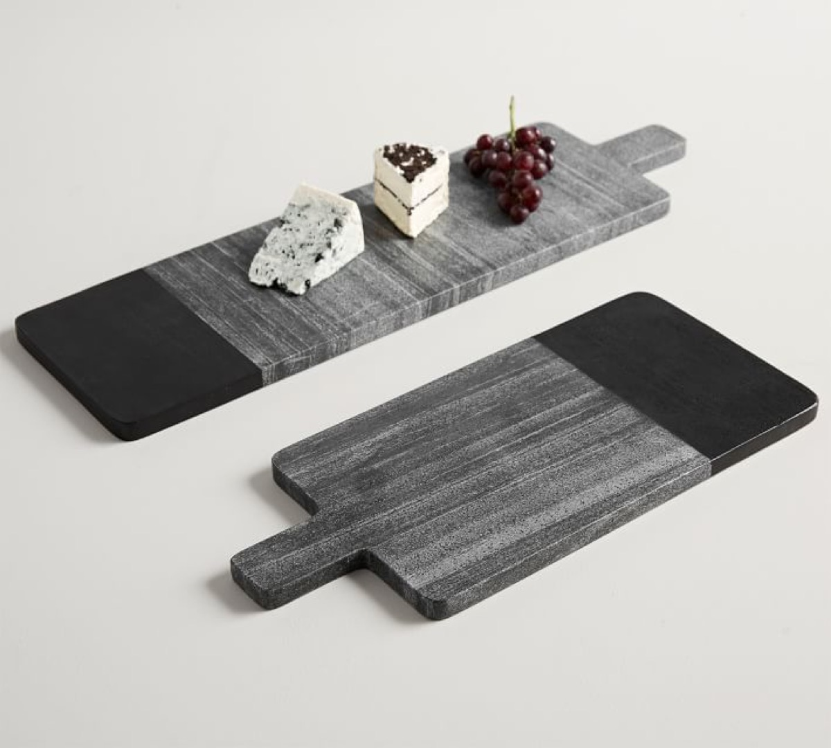 acaccia wood and marble cheesetables