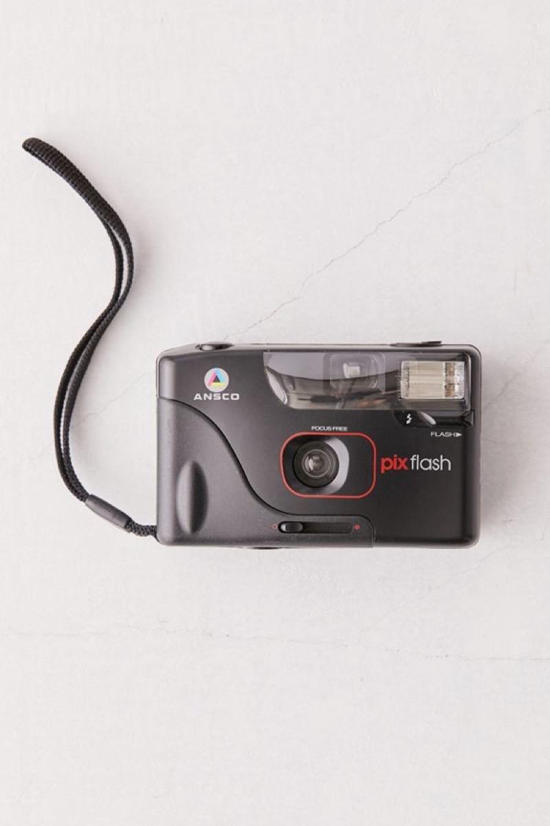 ansco pix flash 35mm camera