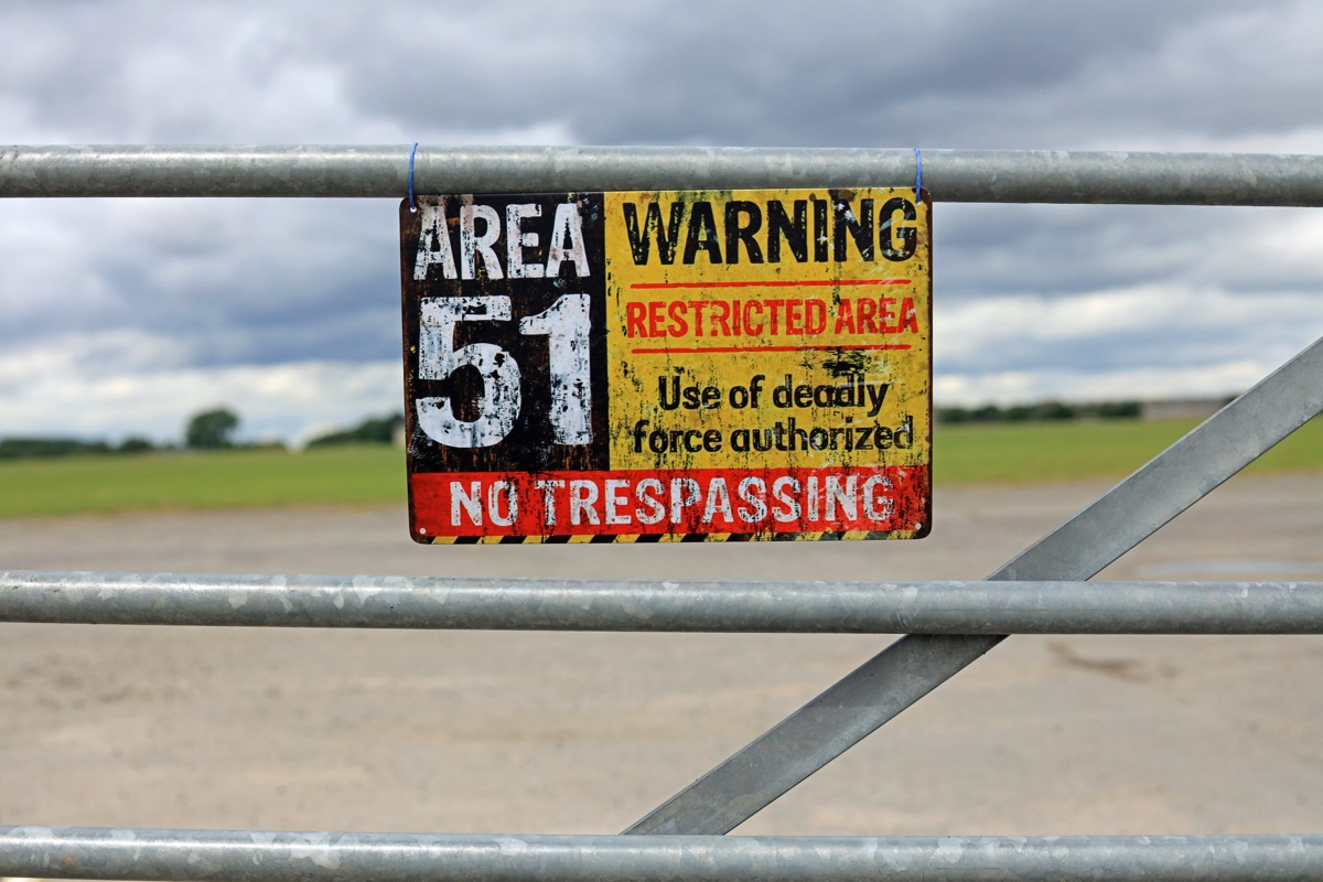 area 51 fence