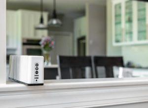 better air air purifier on kitchen pass-through