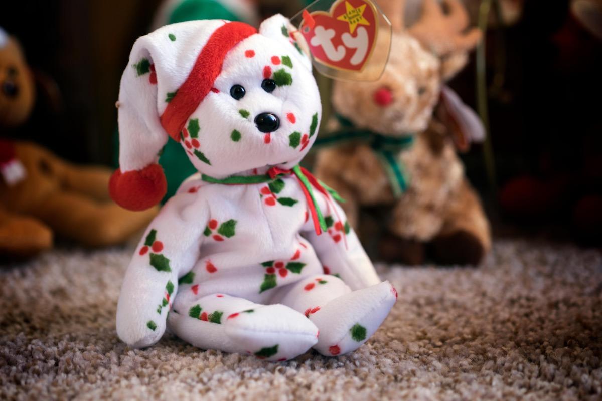 1998 Christmas Beanie Baby