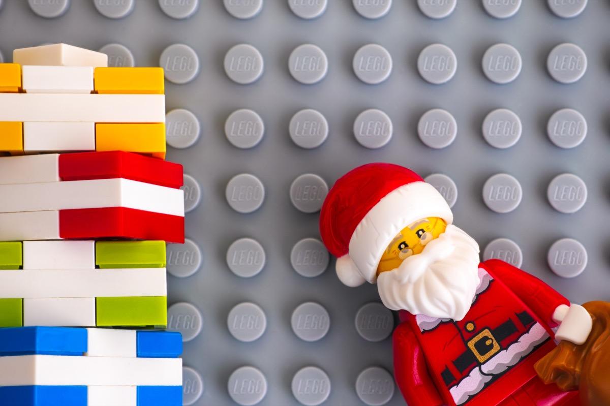 christmas themed legos
