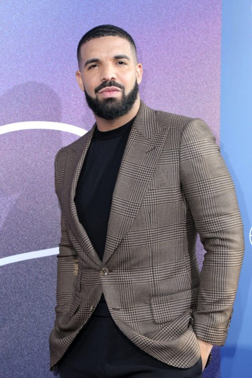 """Drake at the premiere of """"Euphoria"""" in 2019"""
