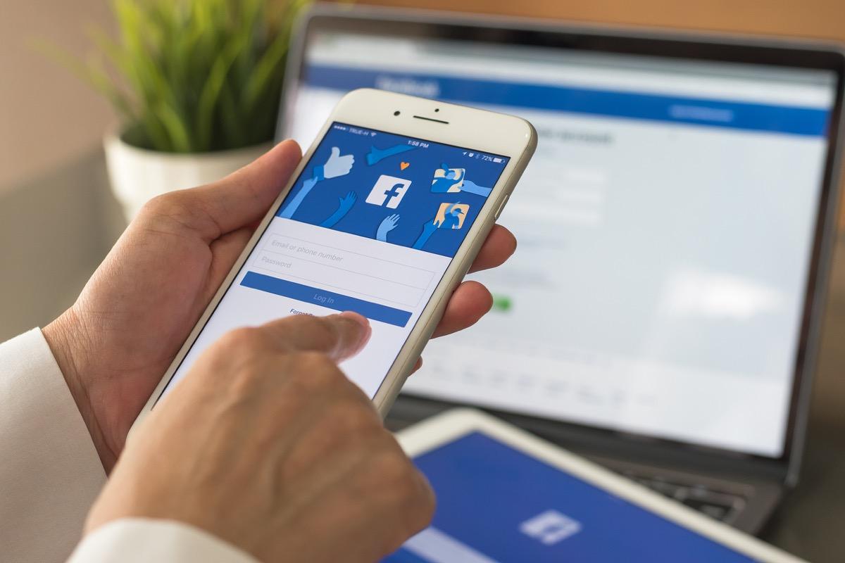 facebook app sign in