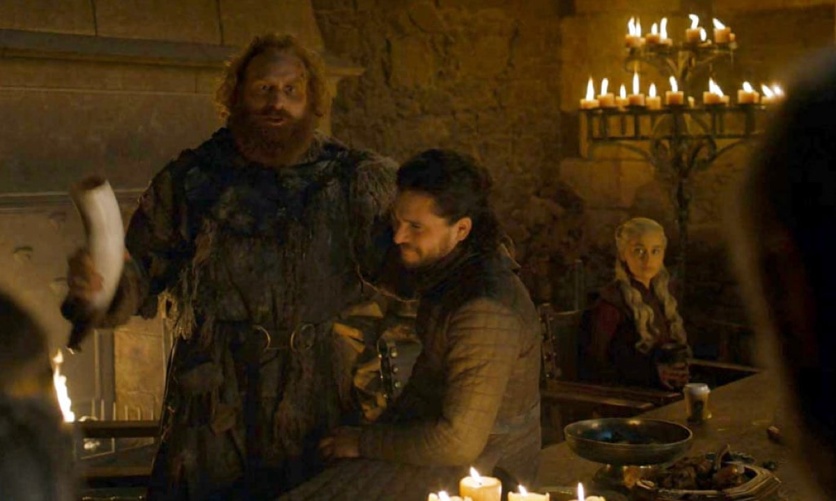 coffee cup in game of thrones scene