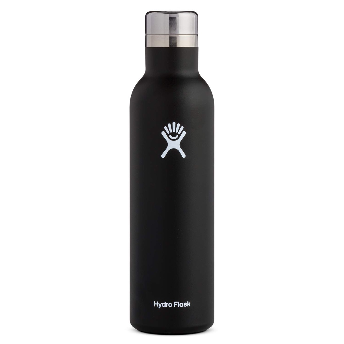 hydro flask black wine bottle