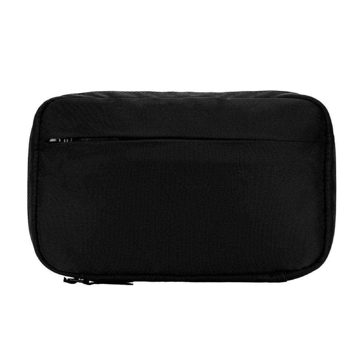 incase black nylon accessory organizer