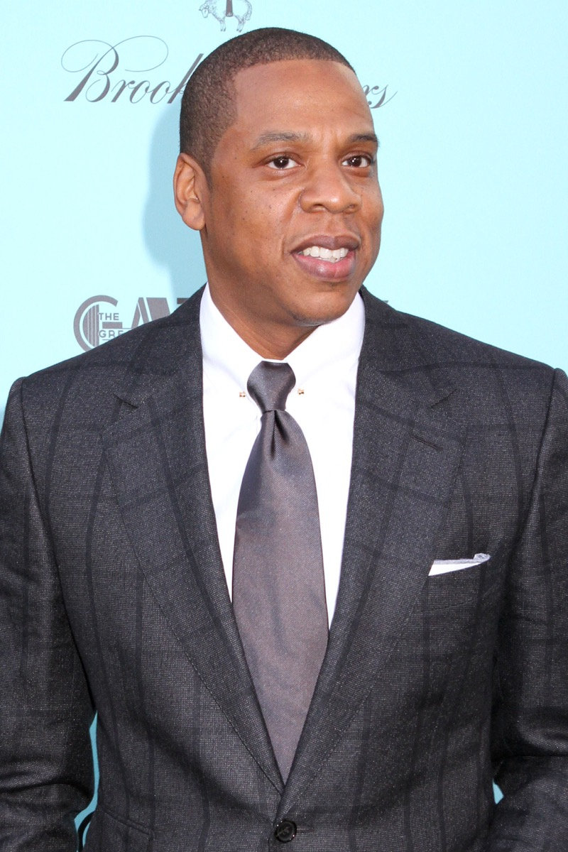 Jay Z on the red carpet