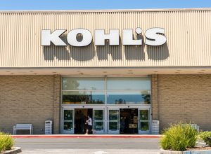kohl's store entrance