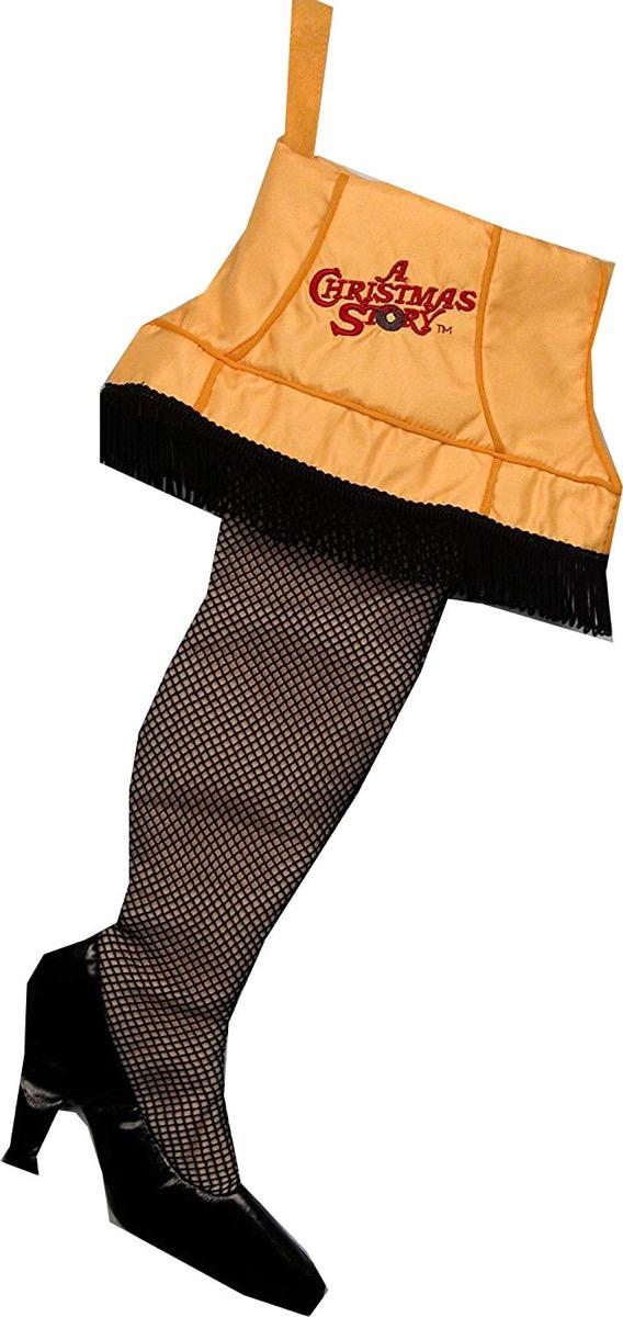 christmas story leg lamp stocking