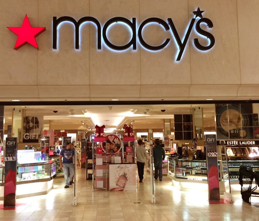 macy's store entrance