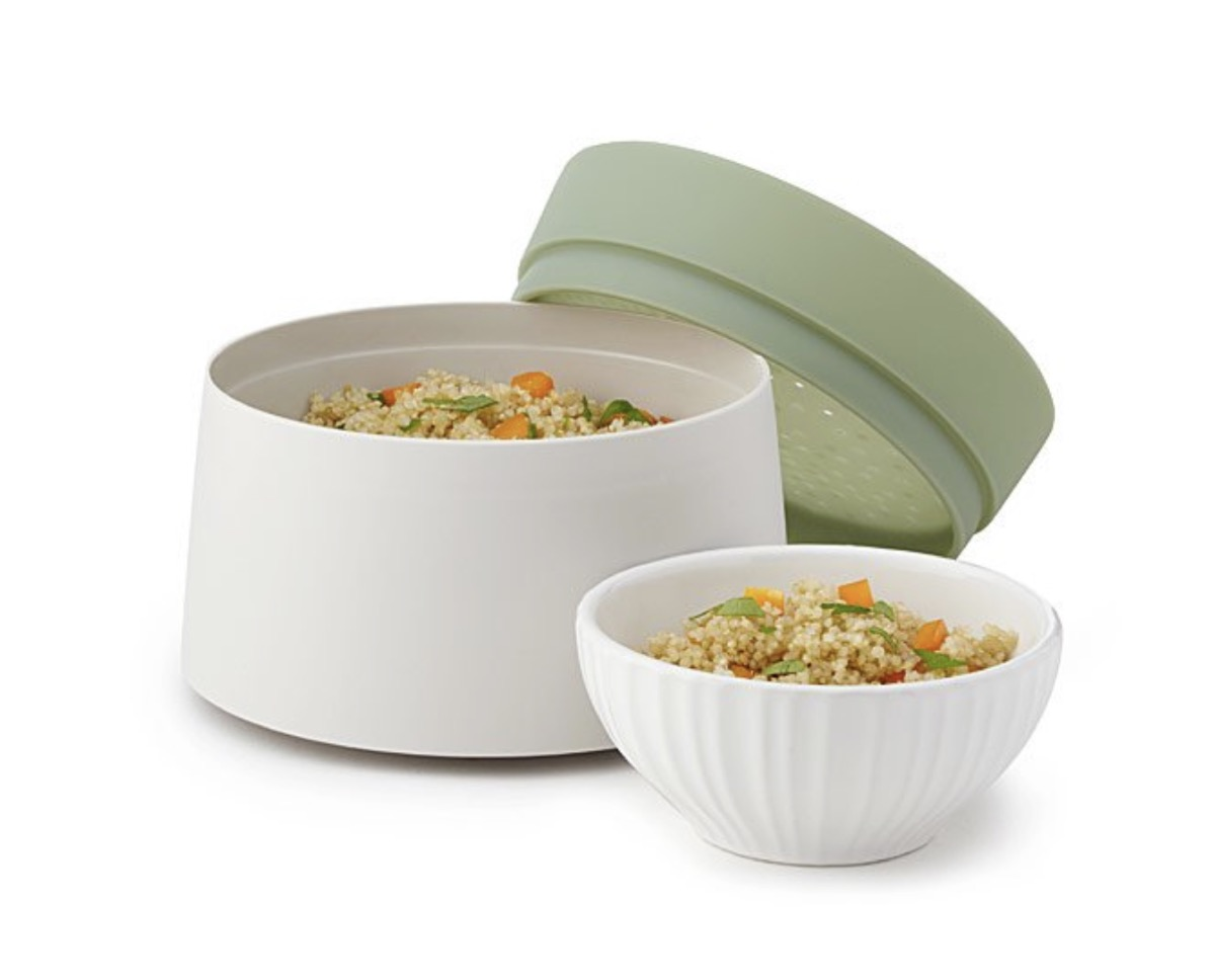 microwave quinoa and rice cooker