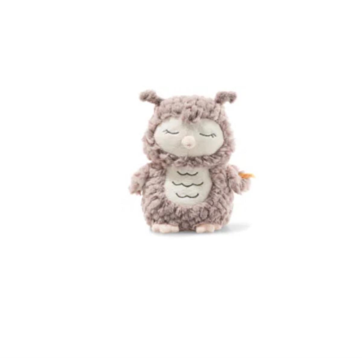 gray owl stuffed animal