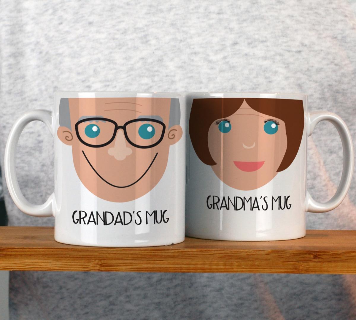 personalized grandparents mug