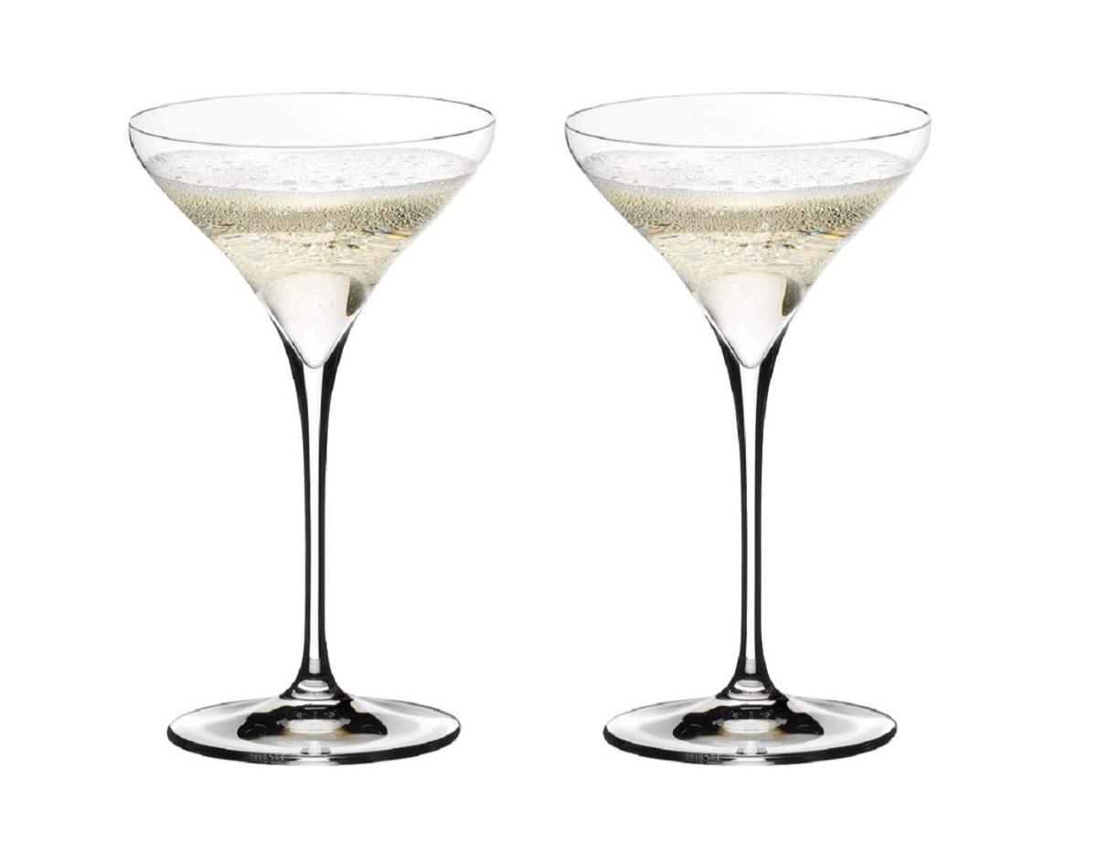 riedel vitis martini glass set