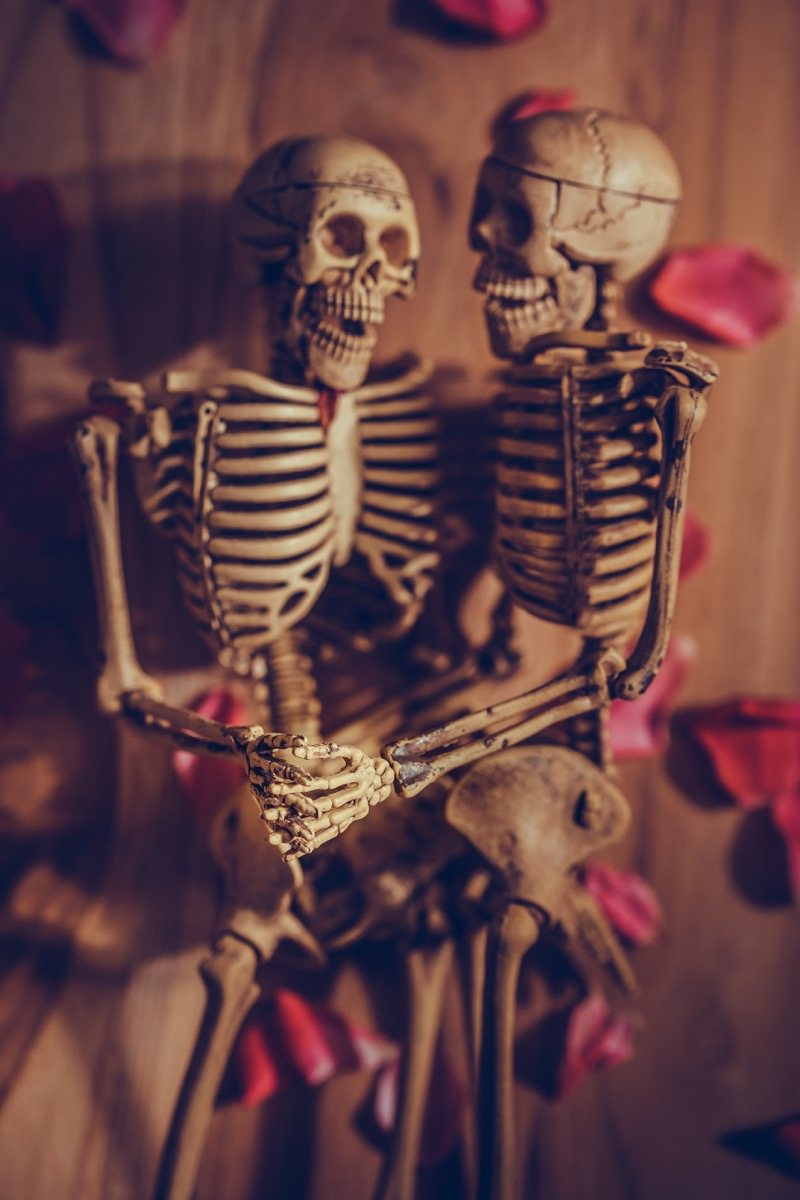 romantic skeletons