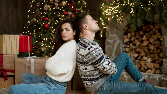why couples break up around the holidays