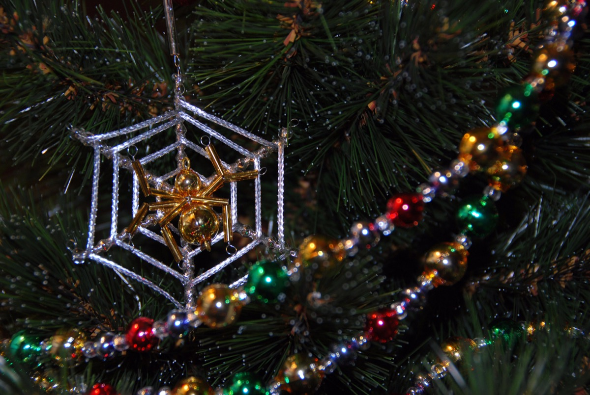 christmas shaped christmas ornament