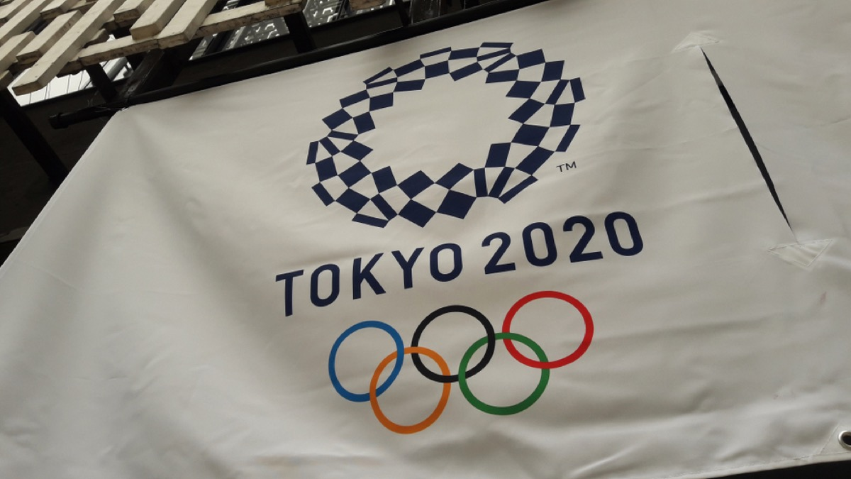 tokyo olympic flag for 2020