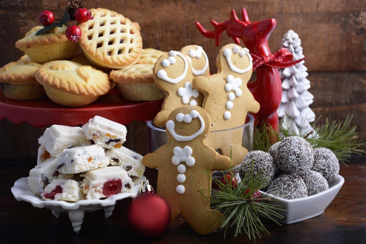 traditional christmas treats