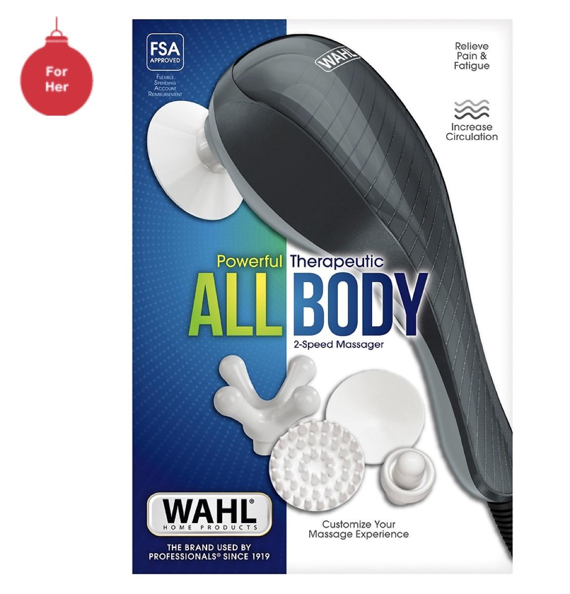 wahl all body massage