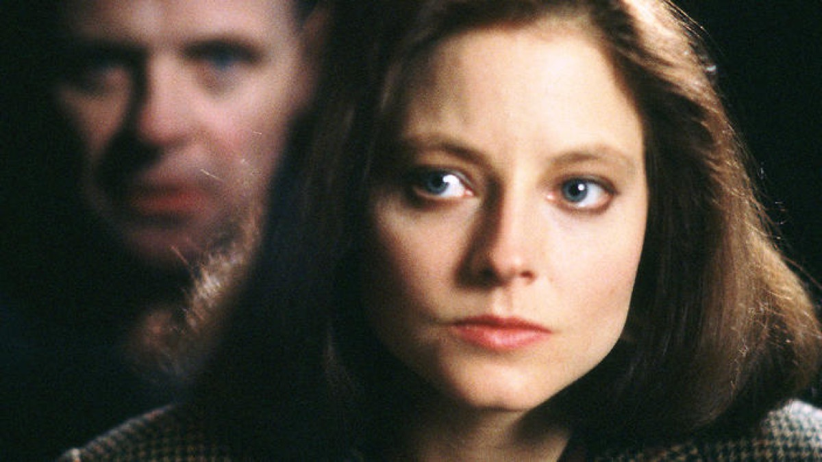 anthony hopkins and jodie foster in silence of the lambs