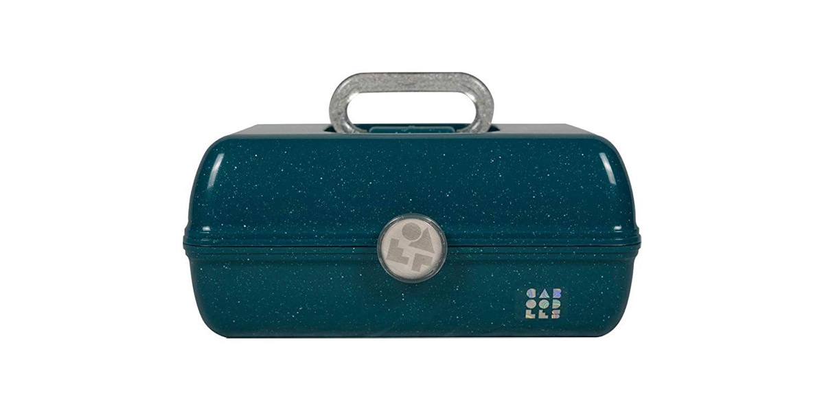 Turquoise caboodles makeup kit