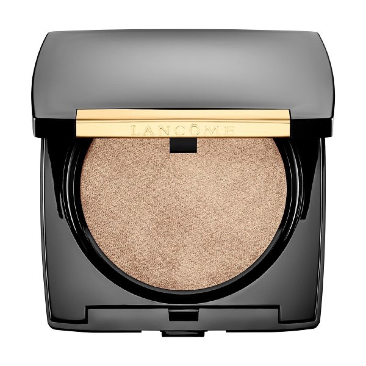 Open Lancome highlighter compact