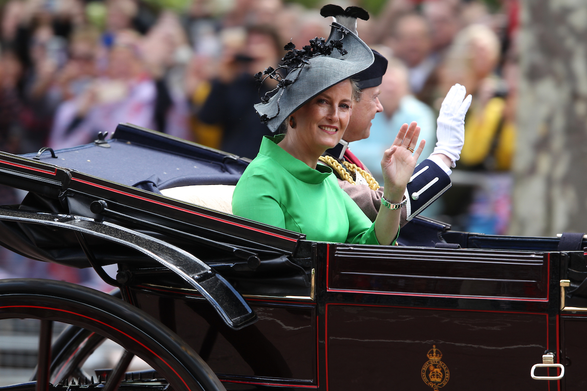 Sophie Countess of Wessex during the Trooping the Colour Queen's birthday parade in central London in 2019.