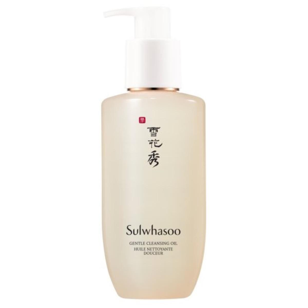 bottle of japanese cleanser