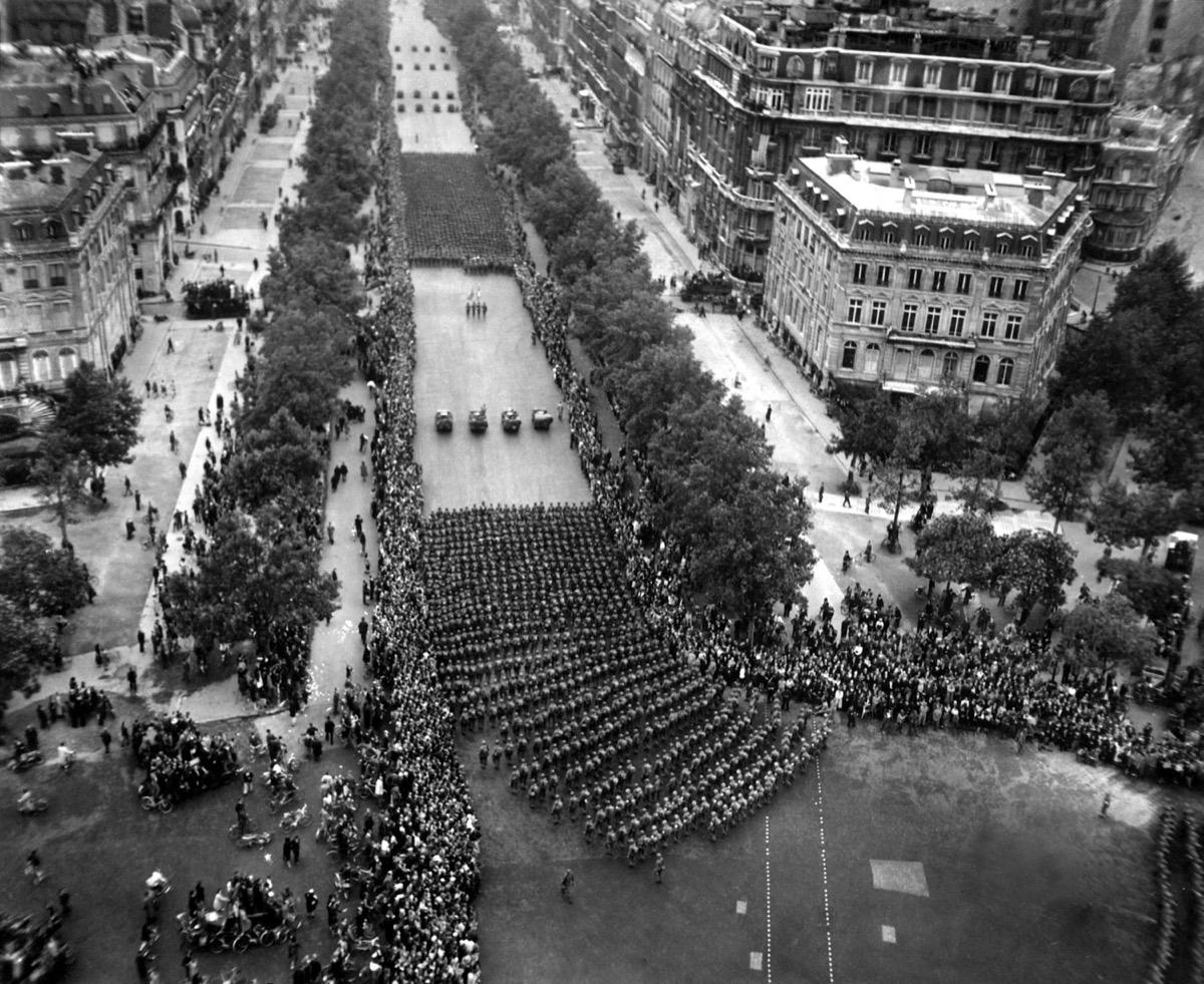 american army in paris