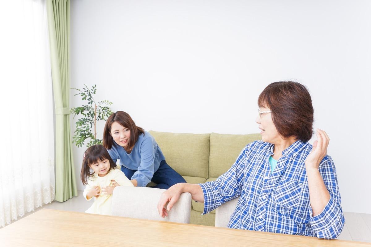 older asian woman, daughter, and granddaughter