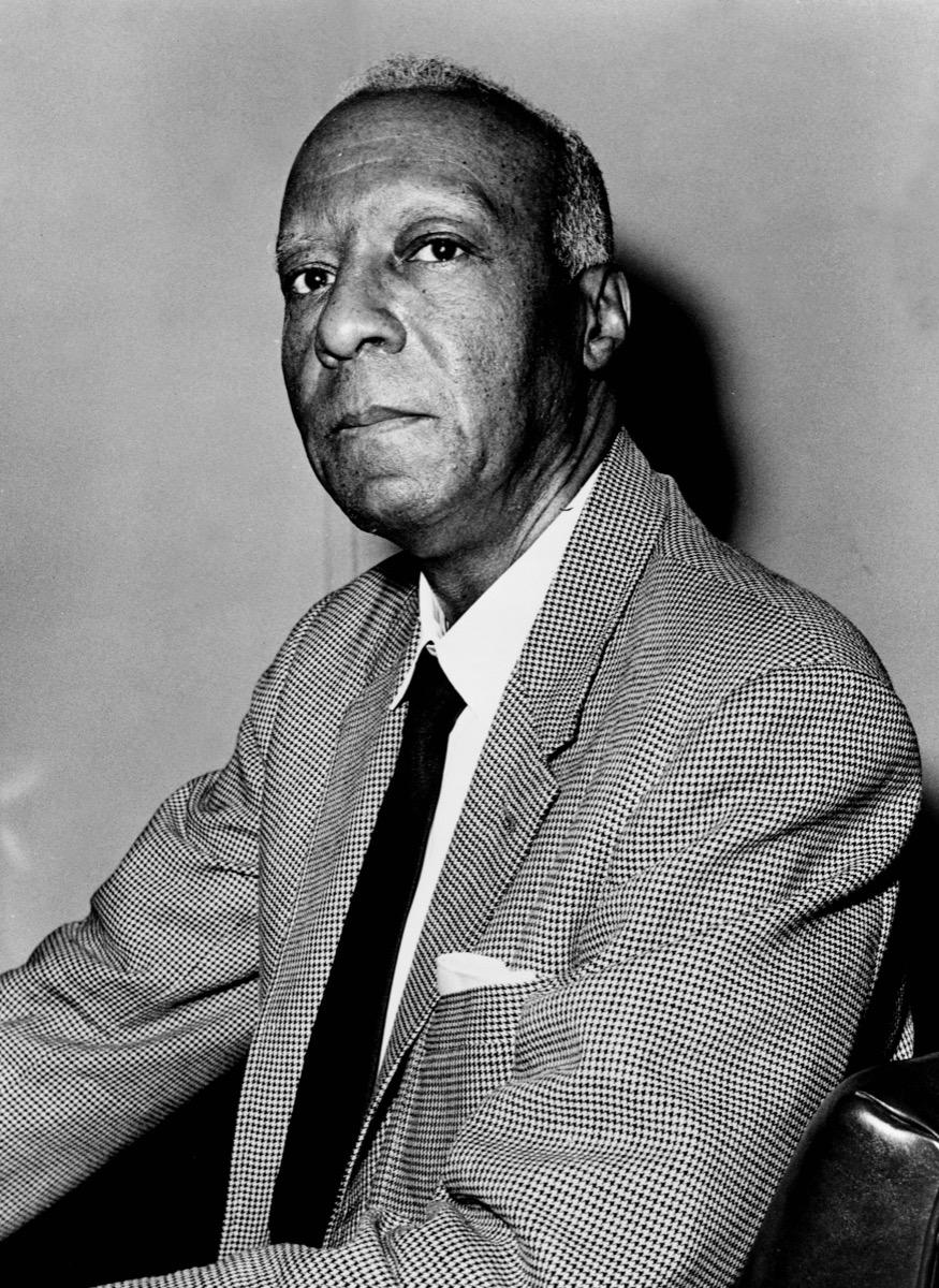 a philip randolph, hidden civil rights leader portrait