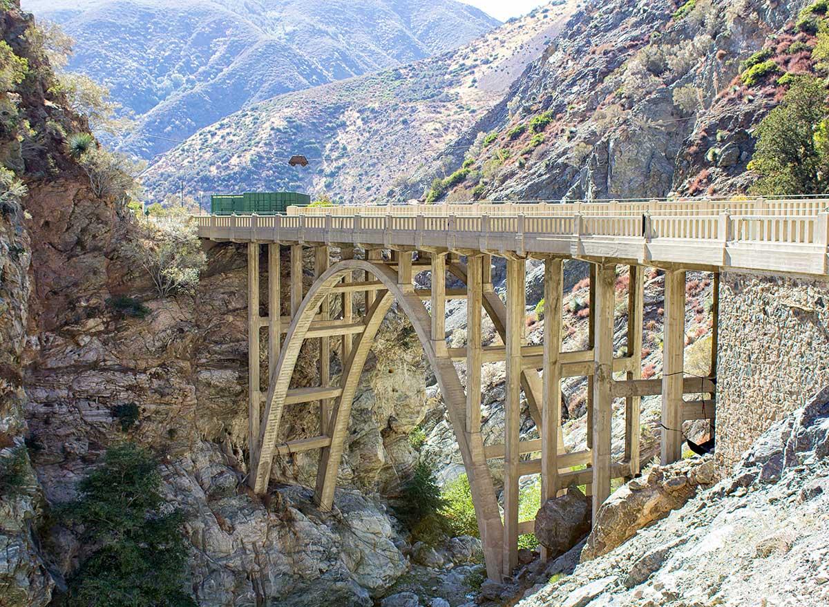 bridge between two canyons