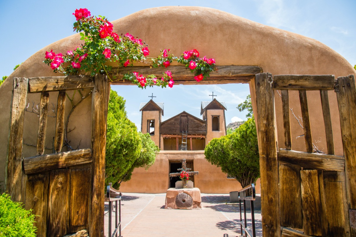 pilgrimage site in chimayo new mexico