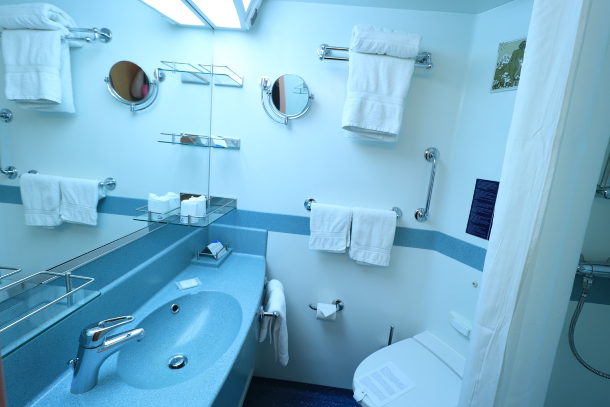 cruise bathroom
