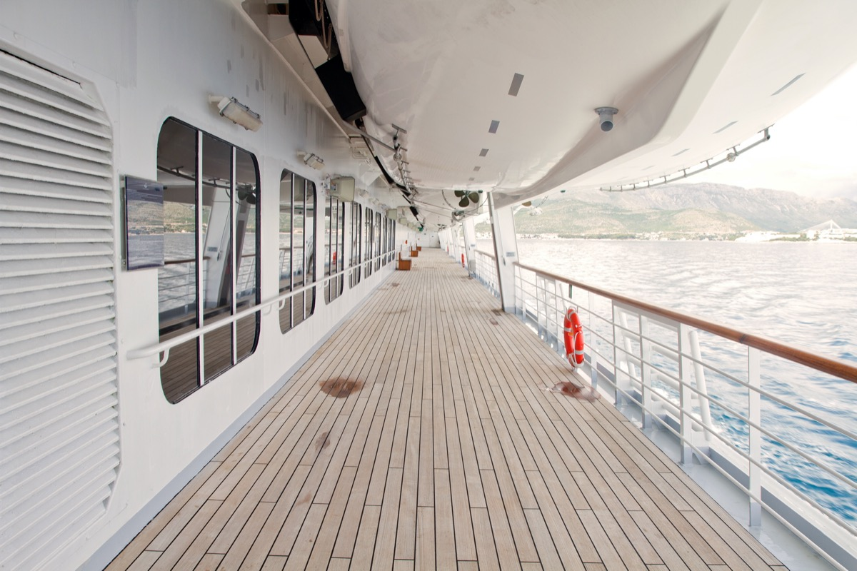 dirty cruise deck